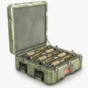 Missile Case 3d model
