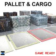 PALLET & CARGO 3d model