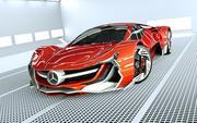 Mercedes-Benz Concept 3d model