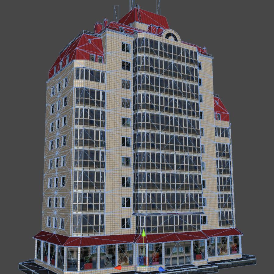 都市の建物 royalty-free 3d model - Preview no. 34