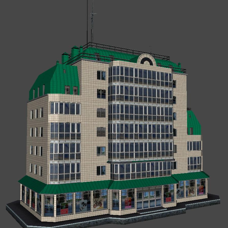都市の建物 royalty-free 3d model - Preview no. 38