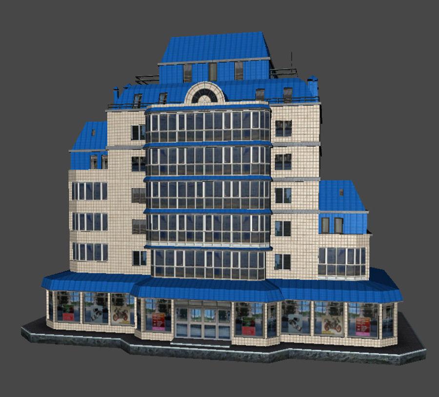 都市の建物 royalty-free 3d model - Preview no. 43