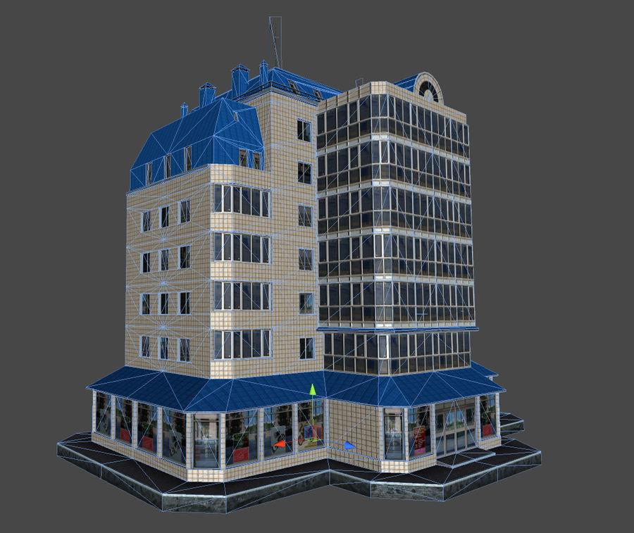 都市の建物 royalty-free 3d model - Preview no. 39