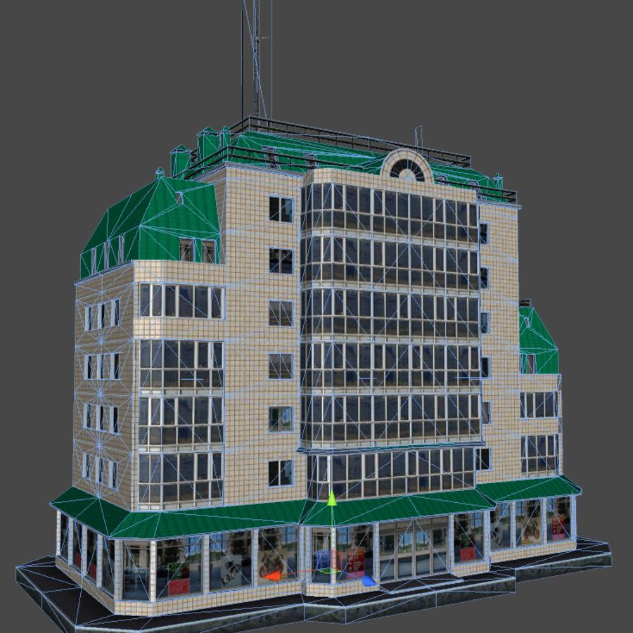 都市の建物 royalty-free 3d model - Preview no. 37
