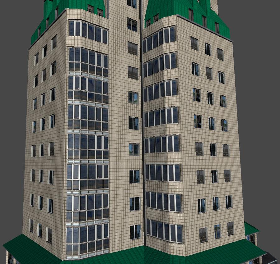 都市の建物 royalty-free 3d model - Preview no. 27