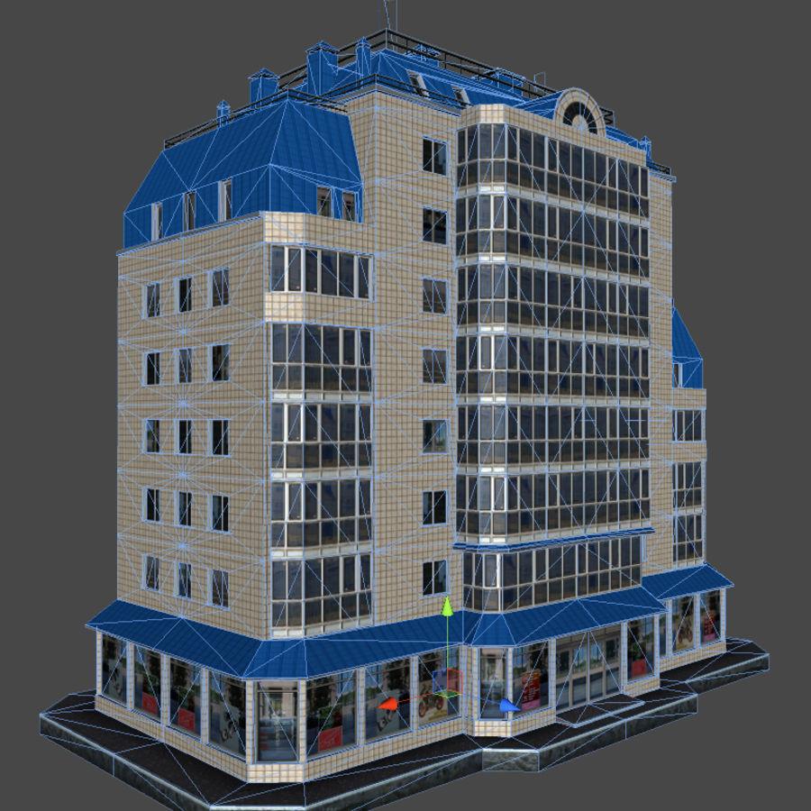 都市の建物 royalty-free 3d model - Preview no. 35