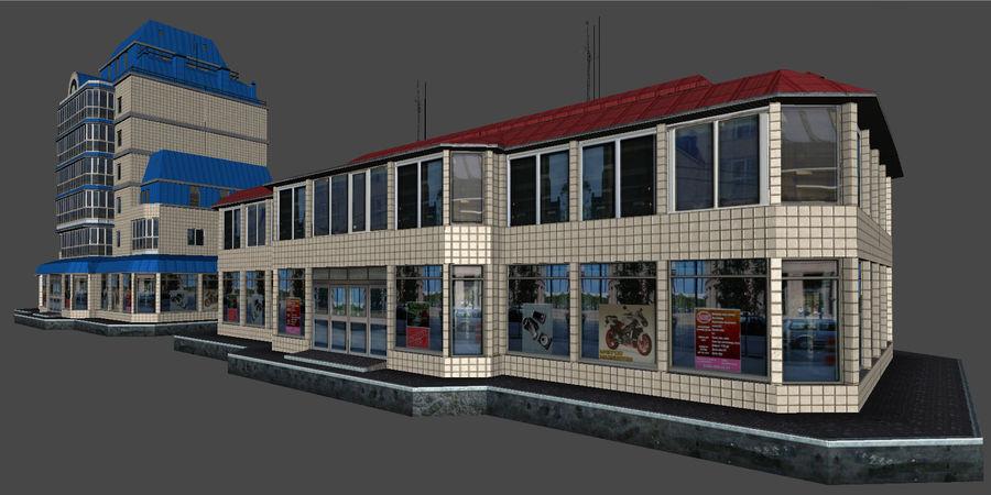 都市の建物 royalty-free 3d model - Preview no. 42