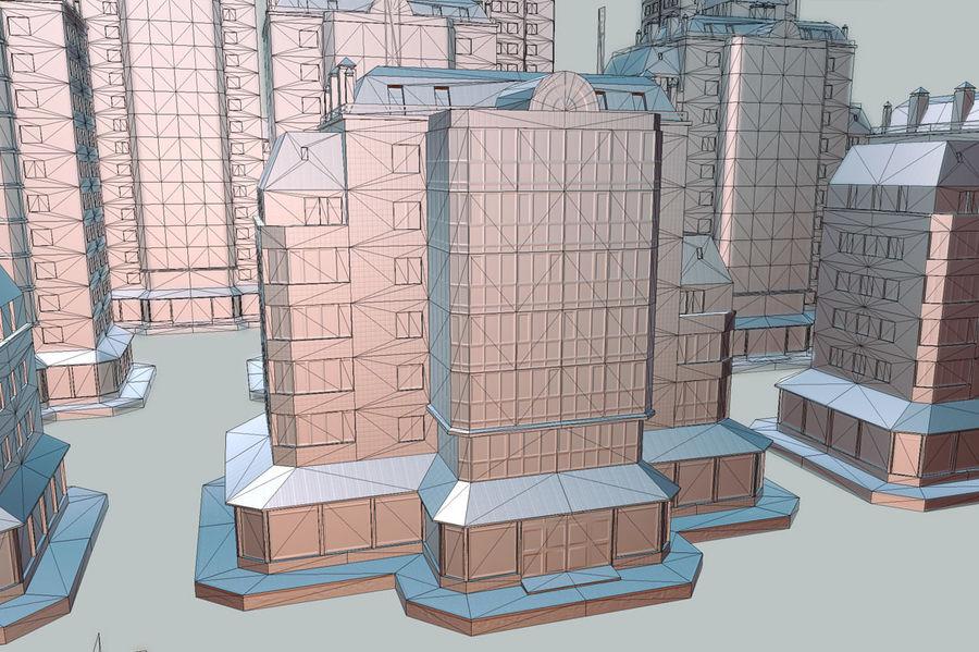 都市の建物 royalty-free 3d model - Preview no. 20
