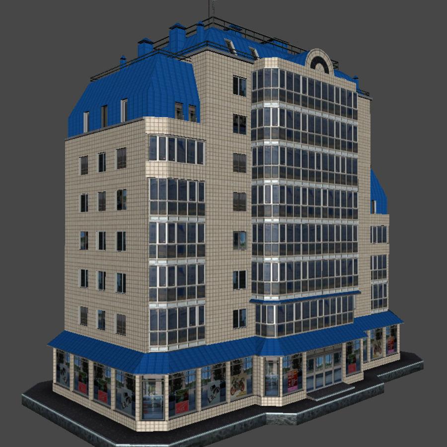 都市の建物 royalty-free 3d model - Preview no. 36