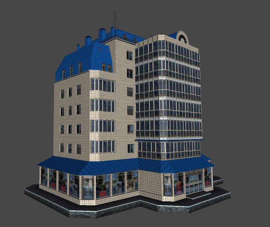 都市の建物 royalty-free 3d model - Preview no. 40