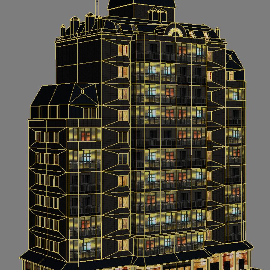 都市の建物 royalty-free 3d model - Preview no. 22
