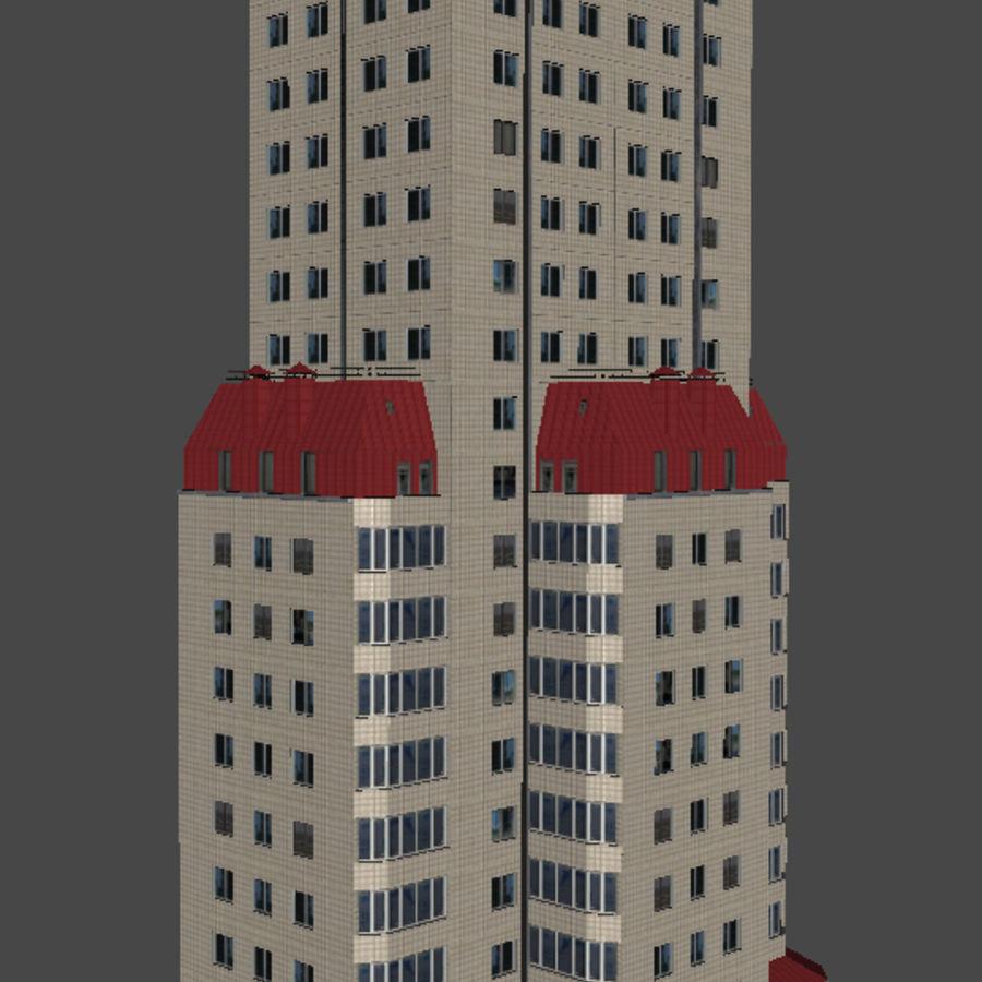 都市の建物 royalty-free 3d model - Preview no. 28