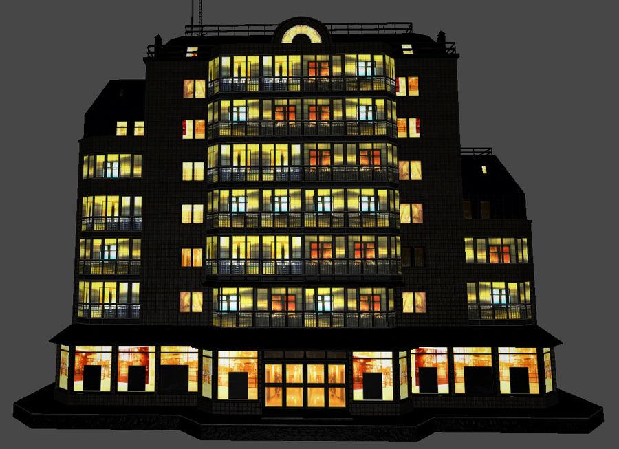 都市の建物 royalty-free 3d model - Preview no. 8