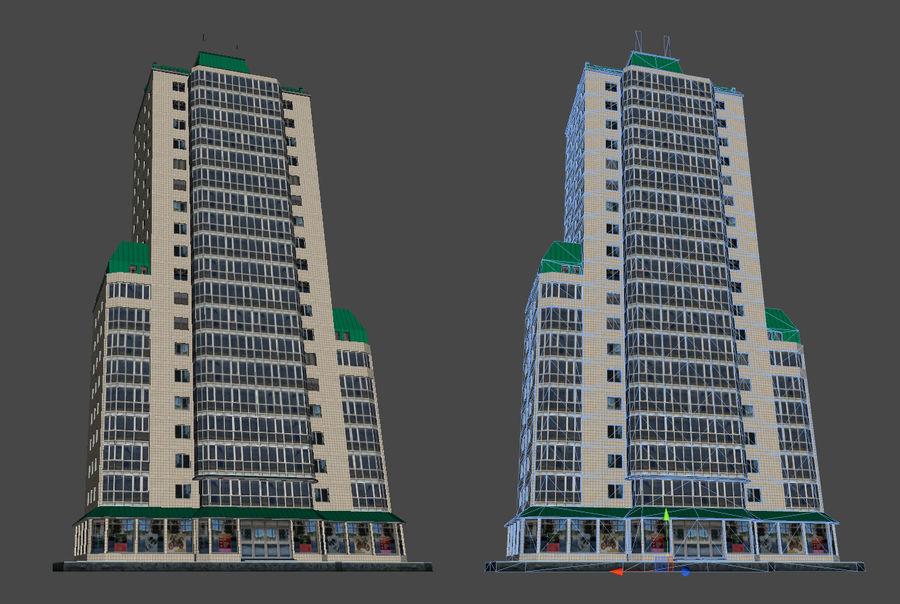 都市の建物 royalty-free 3d model - Preview no. 30