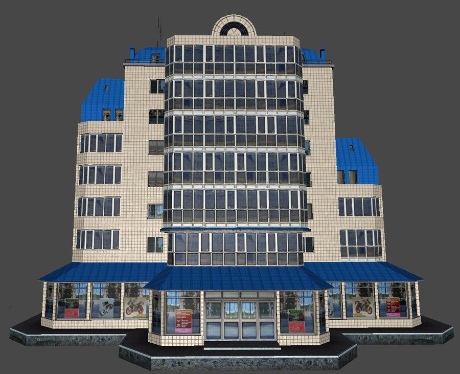 都市の建物 royalty-free 3d model - Preview no. 26