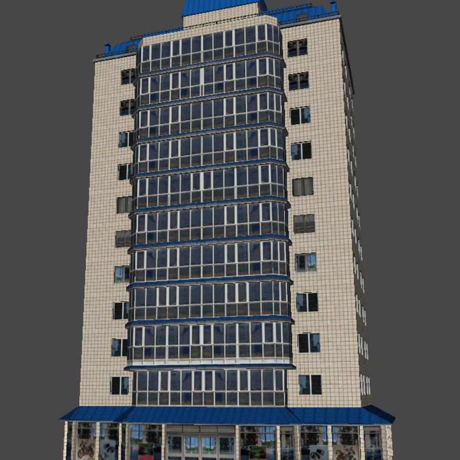 都市の建物 royalty-free 3d model - Preview no. 24