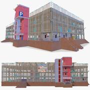 Parking Garage Building 3d model