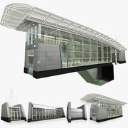 Underground Exit Building 3d model