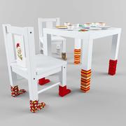 kids table 3d model