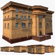 Hôtel soviétique 3d model