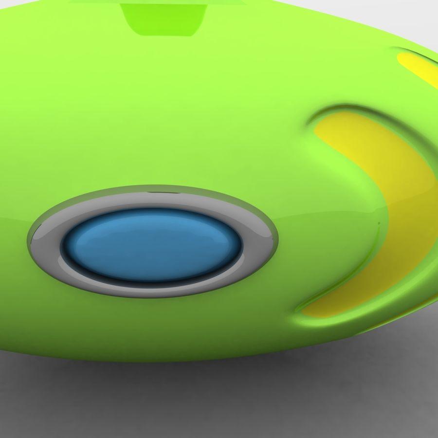Kireç Yeşili Oyuncak Denizaltı royalty-free 3d model - Preview no. 2