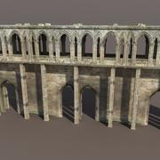 城跡#2低ポリ3Dモデル 3d model