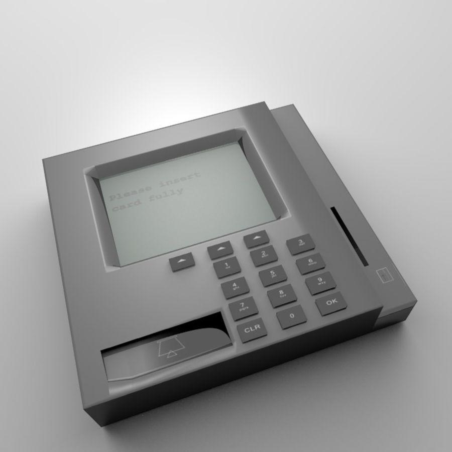 信用卡读卡器 royalty-free 3d model - Preview no. 1