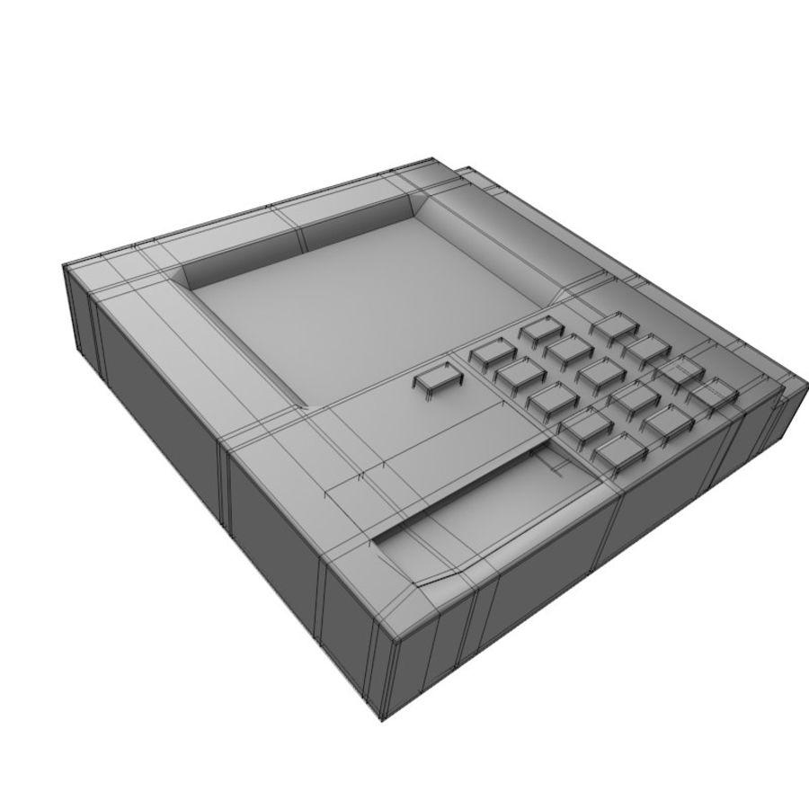 信用卡读卡器 royalty-free 3d model - Preview no. 5