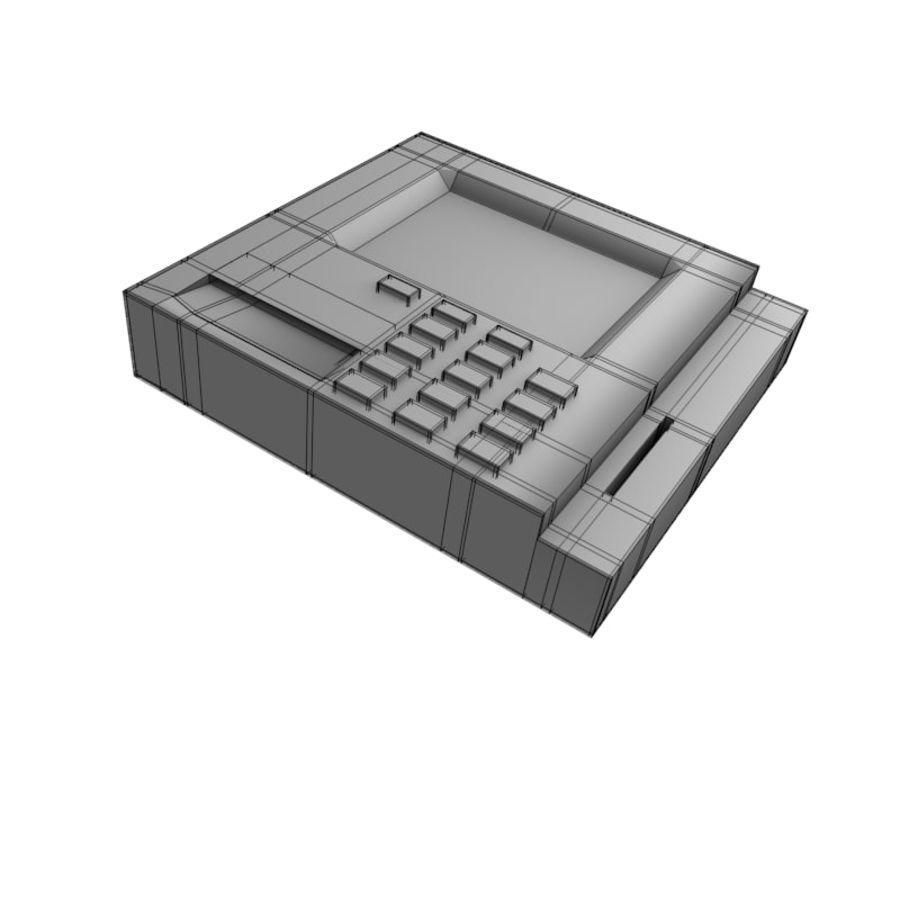 信用卡读卡器 royalty-free 3d model - Preview no. 4