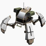 Turret Walker 3d model