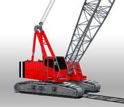 Yard Crane 3d model