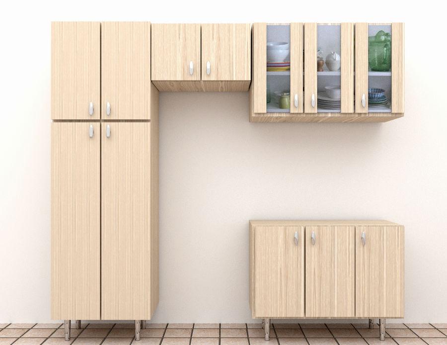 mueble de cocina royalty-free modelo 3d - Preview no. 1