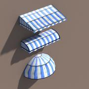 Awning Misc Architecture 3d Low poly 모델 3d model