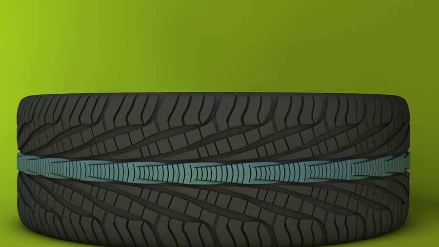 Wheels royalty-free 3d model - Preview no. 10