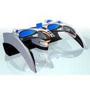 cabina di pilotaggio 3d model
