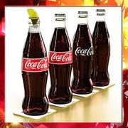 Coke - Coca Cola Glass Bottle. 3d model