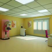 Маммографический кабинет 3d model