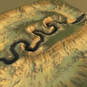 Desert Canyon2 3d model