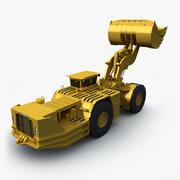 Underground Mining Loader 3d model