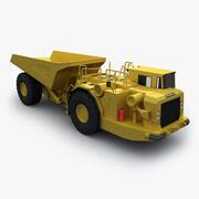 Underground Dump Truck 3d model