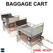 Baggage CART 3d model