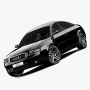 Audi A6 c5 3d model