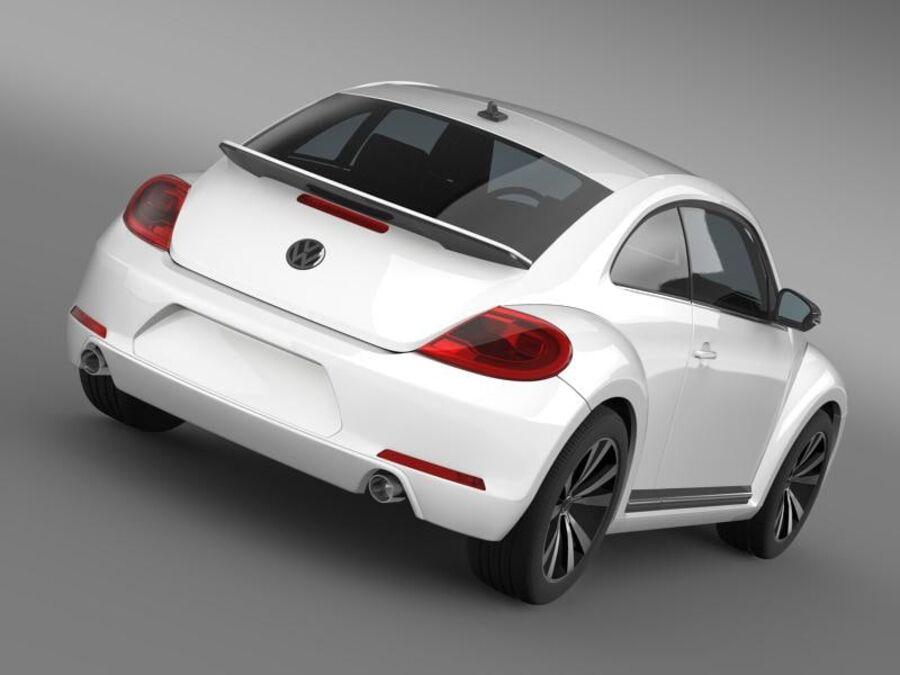 VW Beetle 2012 royalty-free 3d model - Preview no. 14