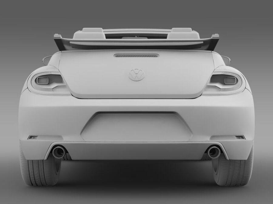 VW Käfer Cabrio 2013 royalty-free 3d model - Preview no. 18