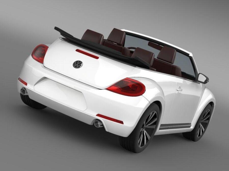 VW Beetle Cabrio Exclusivo royalty-free modelo 3d - Preview no. 14