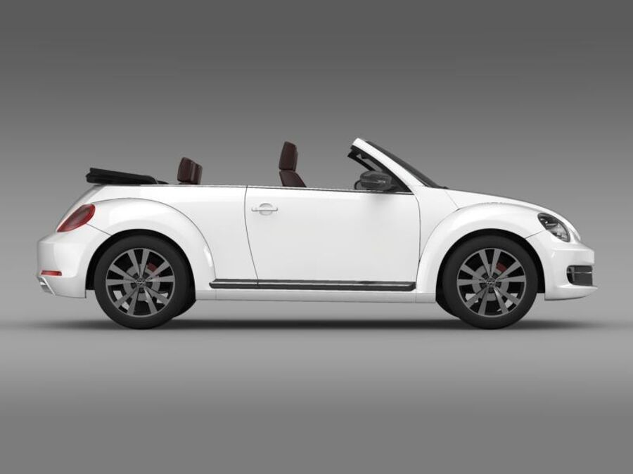 VW Beetle Cabrio Exclusivo royalty-free modelo 3d - Preview no. 10