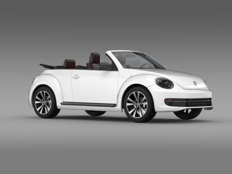 VW Beetle Cabrio Exclusivo royalty-free modelo 3d - Preview no. 11