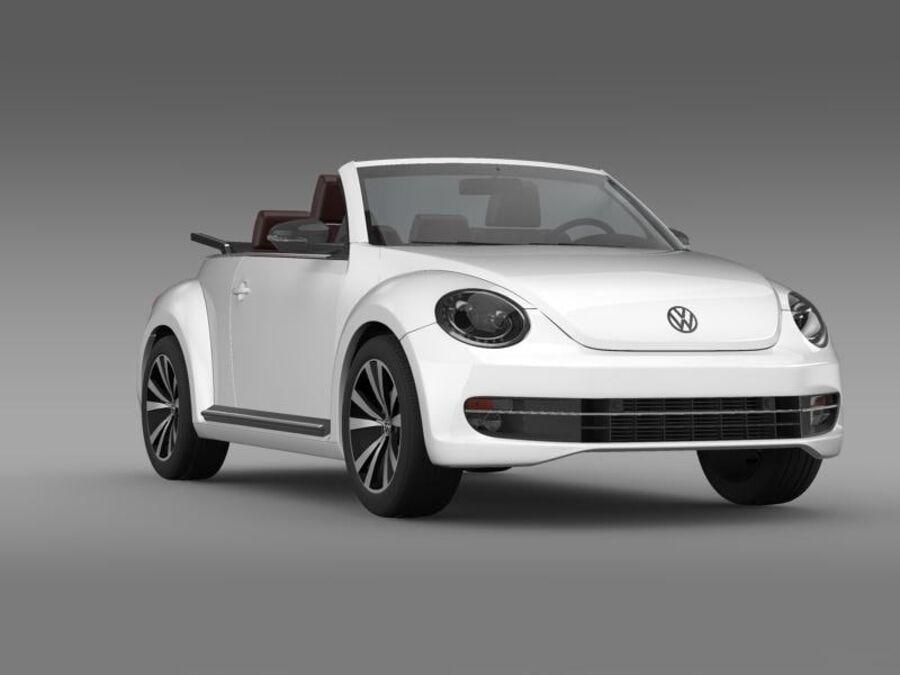 VW Beetle Cabrio Exclusivo royalty-free modelo 3d - Preview no. 12