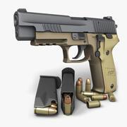 Sig Sauer P226 Combat 9mm 3d model