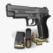 Sig Sauer P226 Enhanced Elite 9mm 3d model